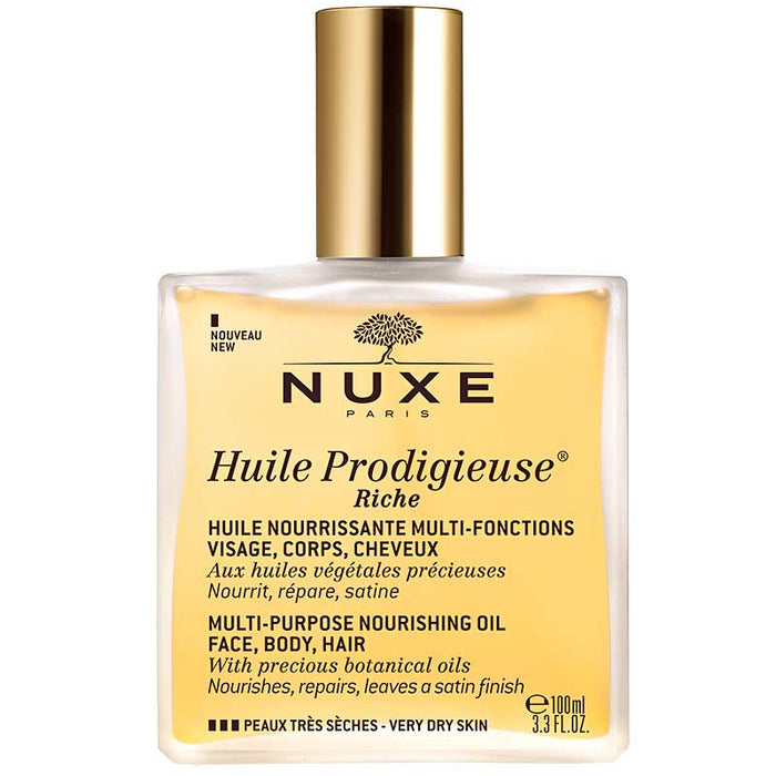 Nuxe Huile Prodigieuse Riche Multi-Purpose Nourishing Oil 100 ml spray