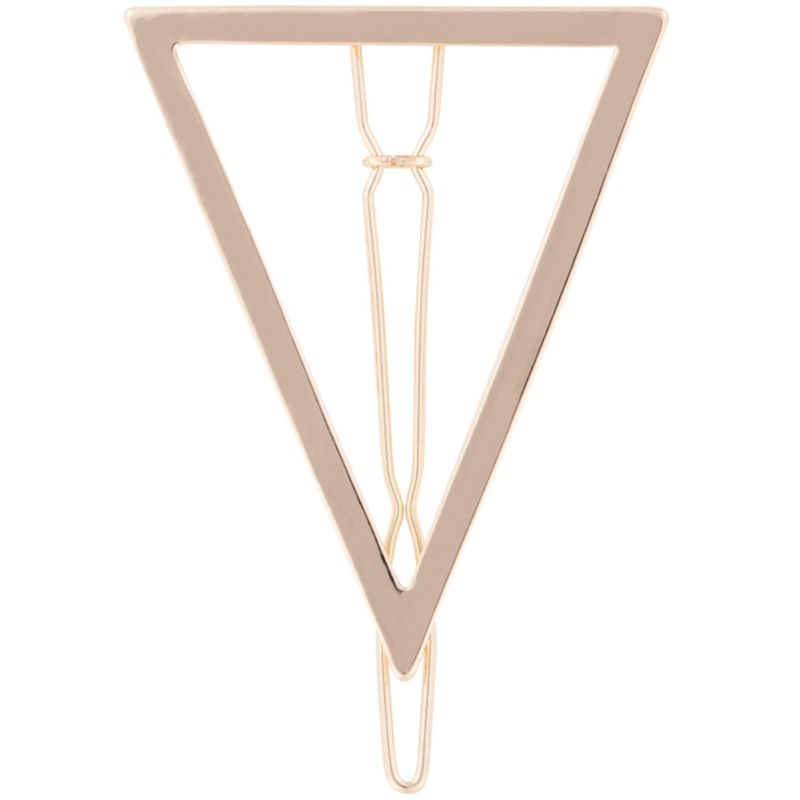 Bachca Metal Triangle Barrette
