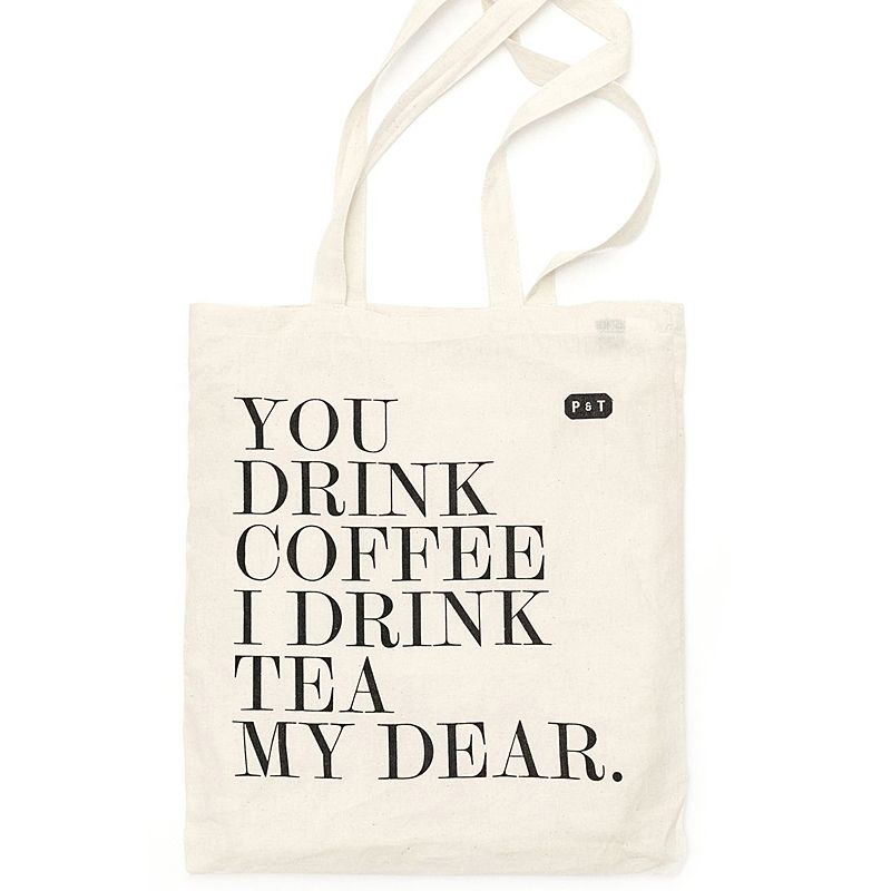 Paper and Tea My Dear Tote Bag 1 pc
