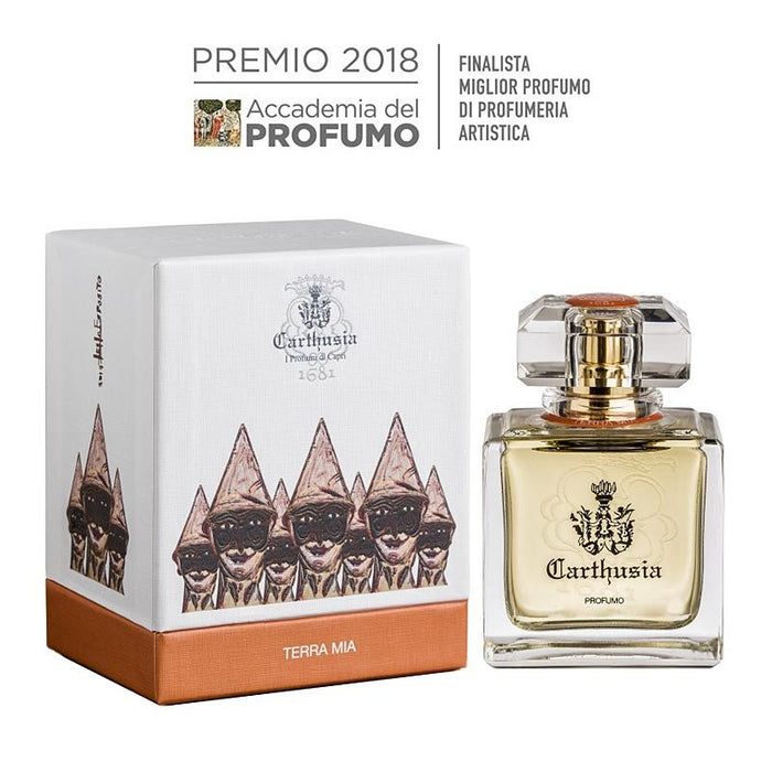 Carthusia Terra Mia Profumo (50 ml) with box