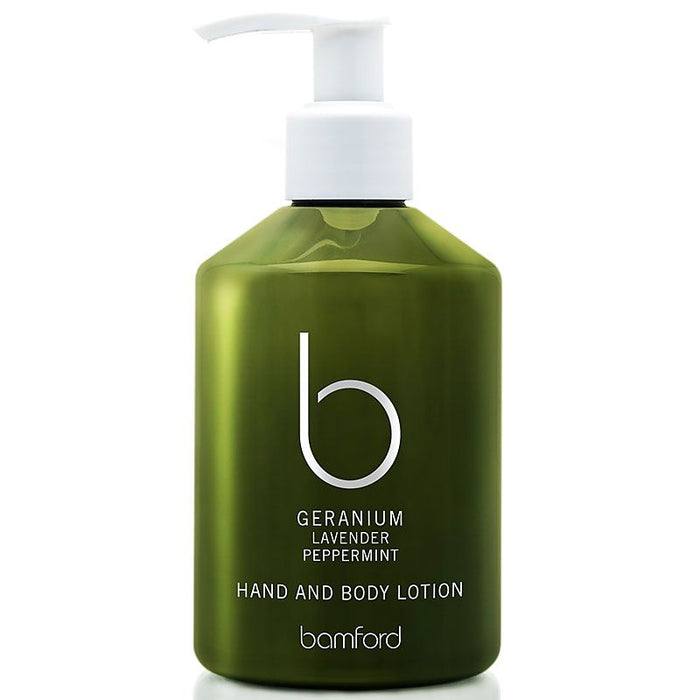 Bamford Botanic Geranium Hand and Body Lotion
