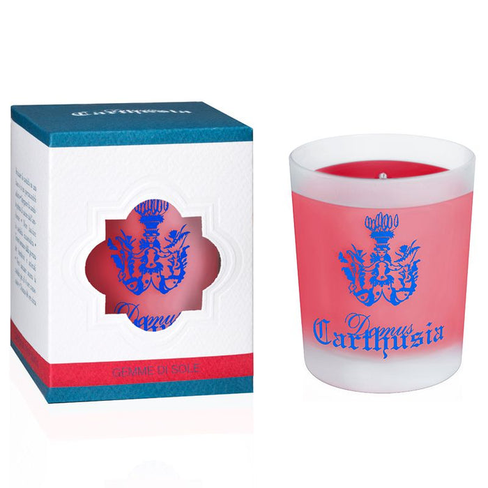 Carthusia Gemme di Sole Candle (190 g) with box