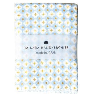 Haikara Little Handkerchief Blue Cross