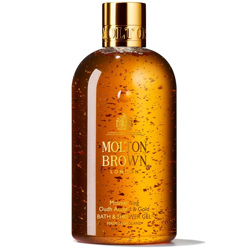 Molton Brown Mesmerizing Oudh Accord & Gold Bath & Shower Gel (300 ml)