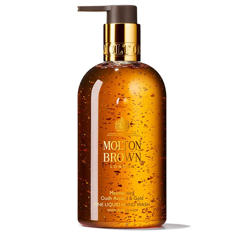 Molton Brown Mesmerizing Oudh Accord & Gold Fine Liquid Hand Wash (300 ml)