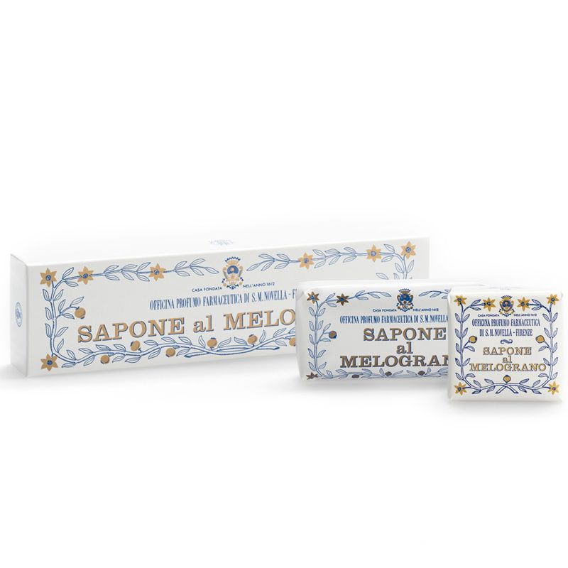 Santa Maria Novella Pomegranate Soap Box