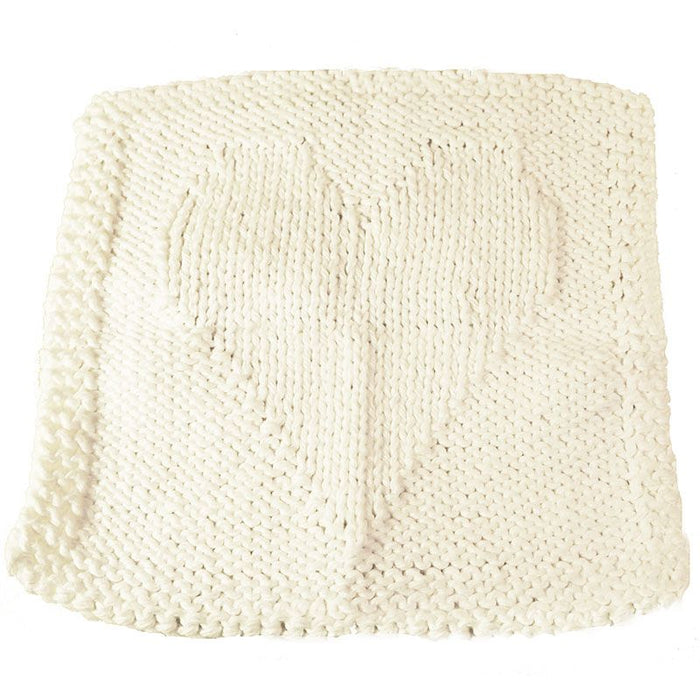 Handmade Washcloth White