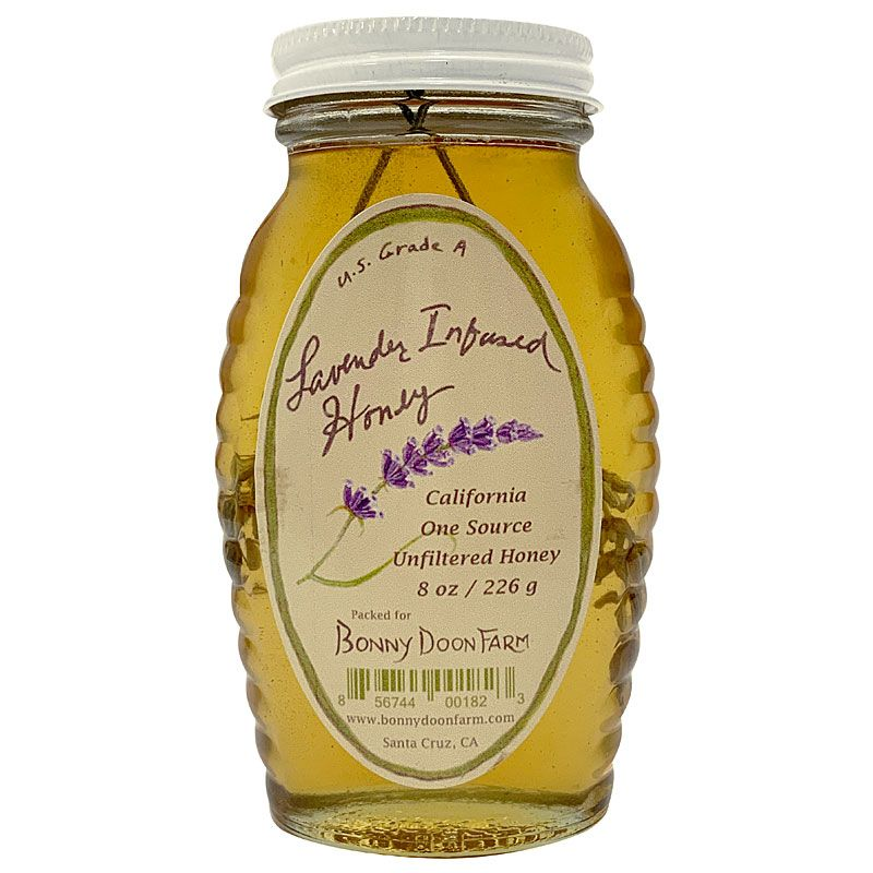 Bonny Doon Farm Lavender Infused Honey (8 oz)