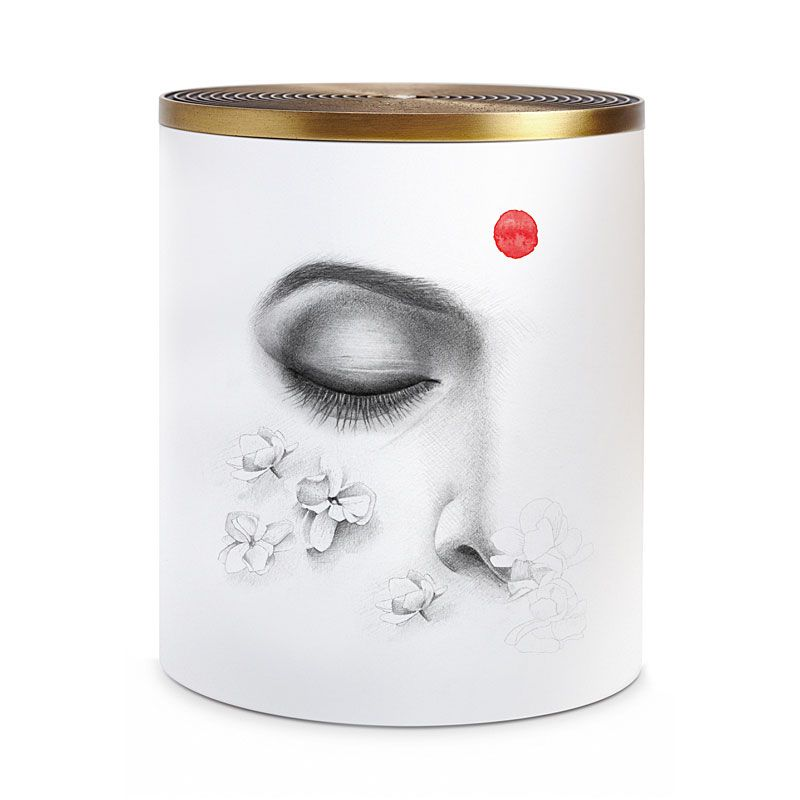 L'Objet Jasmin d'Inde No. 6 Candle 3-Wick (1000 g) with lid
