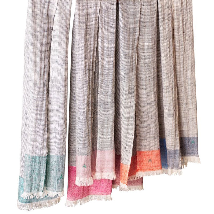 Andraab Handwoven Kashmir Scarf - Mini - Assorted Colors