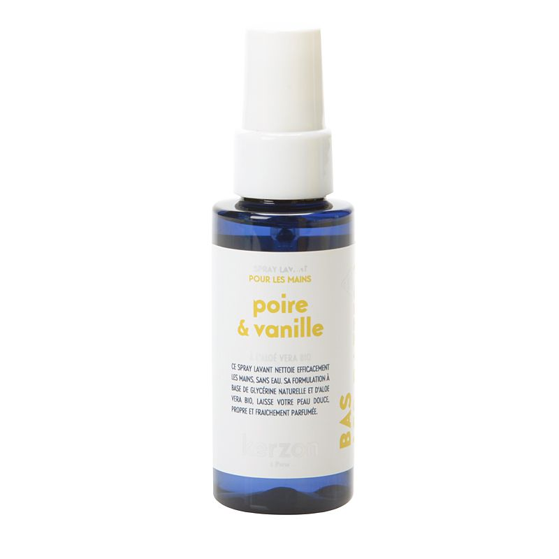 Kerzon Hand Cleansing Spray - Poire & Vanille