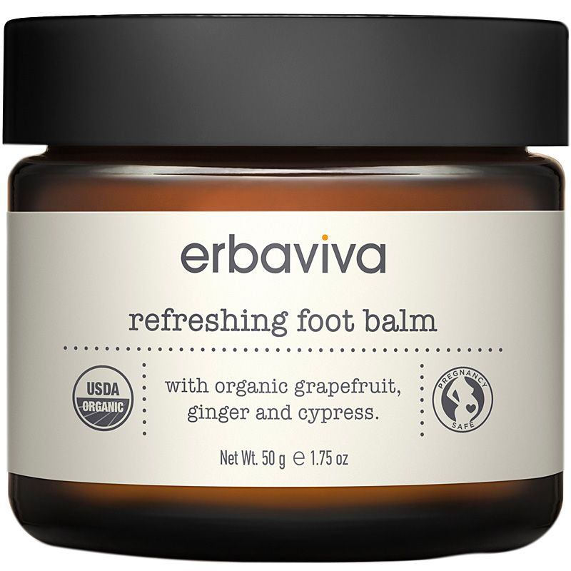 Erbaviva Refreshing Organic Foot Balm (1.75 oz)