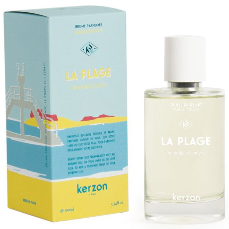 Kerzon La Plage (the beach) Linen and Body Mist (100  ml) with box