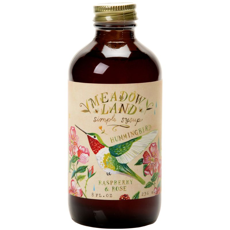 Meadowland Syrup Hummingbird Simple Syrup (8 oz)
