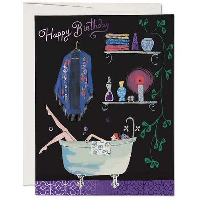 Bathtub Bubbles Card