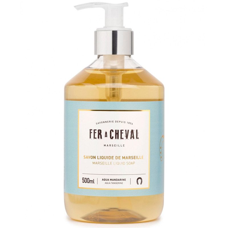 Fer a Cheval Marseille Liquid Soap - Aqua Tangerine (500 ml)