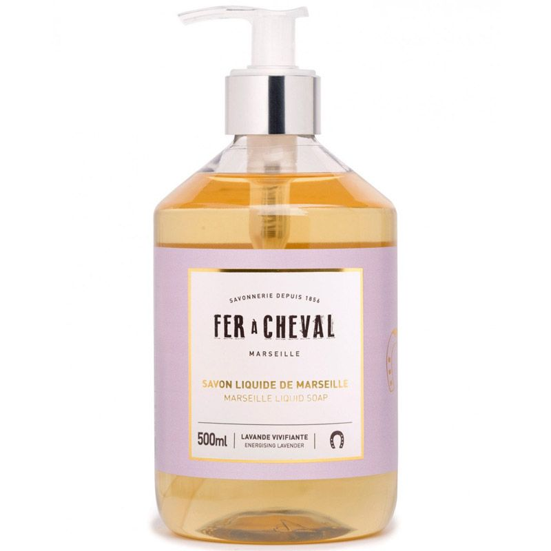 Fer a Cheval Marseille Liquid Soap - Energizing Lavender (500 ml)