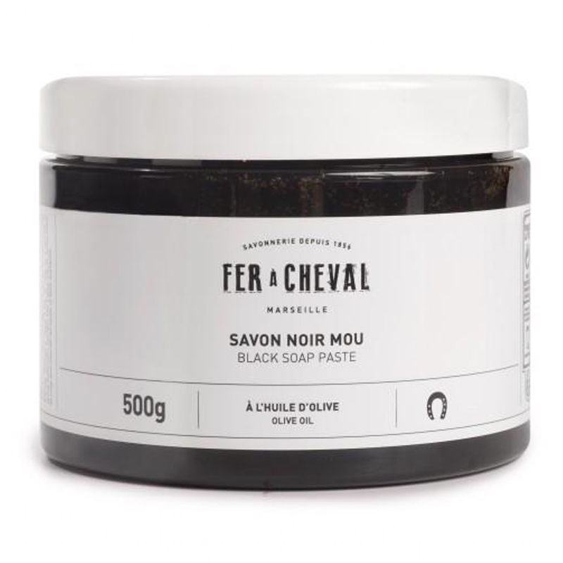 Fer a Cheval Black Soap Paste Olive Oil (500 ml)
