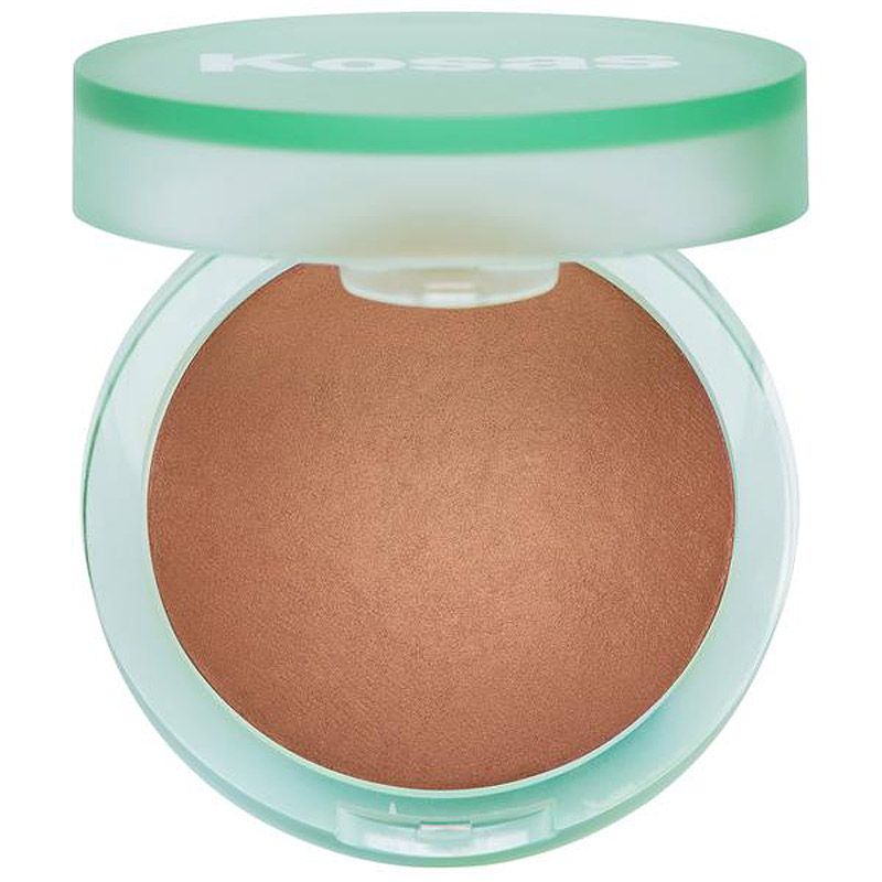 Kosas Cosmetics The Sun Show Baked Bronzer (Medium) open compact