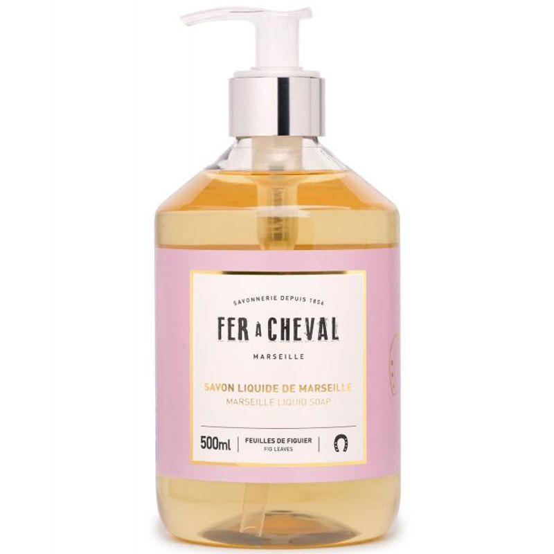 Fer a Cheval Marseille Liquid Soap - Fig Leaves (500 ml)
