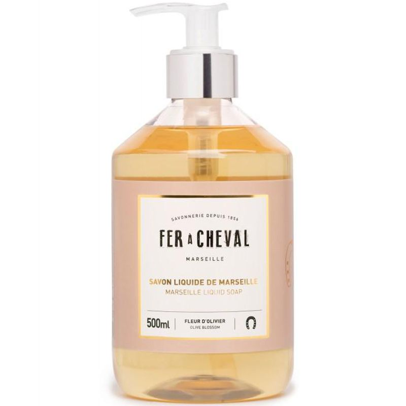 Fer a Cheval Marseille Liquid Soap - Olive Blossom (500 ml)