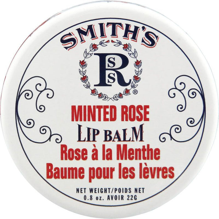 Rosebud Perfume Co. Smith's Minted Rose Lip Balm - 22 g Tin