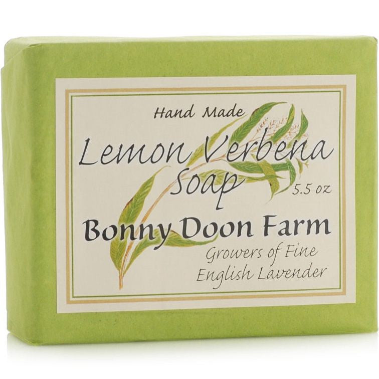 Bonny Doon Farm Lemon Verbena Soap Bar (5.5 oz)