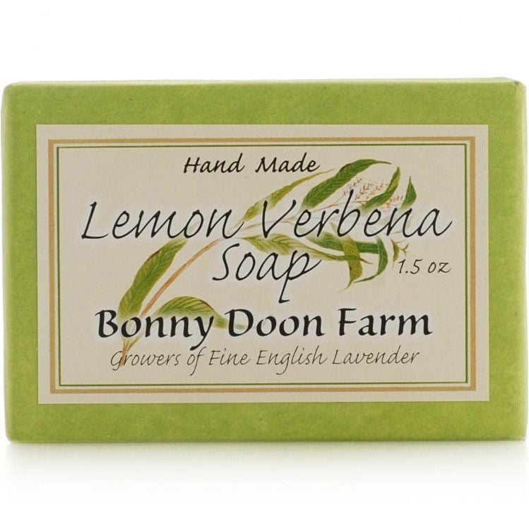 Bonny Doon Farm Lemon Verbena Soap Bar (1.5 oz)