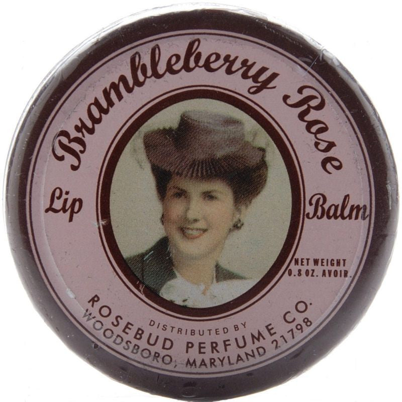 Rosebud Perfume Co. Brambleberry Rose Lip Balm - 22 g Tin