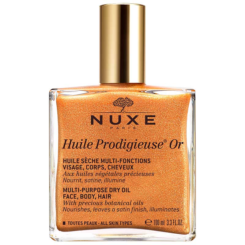 Nuxe Huile Prodigieuse® 'Or' Multi Usage Dry Oil - Golden Shimmer 100 ml