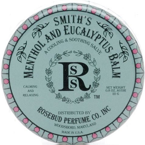 Rosebud Perfume Co. Smith's Menthol & Eucalyptus Balm - 22 g Tin