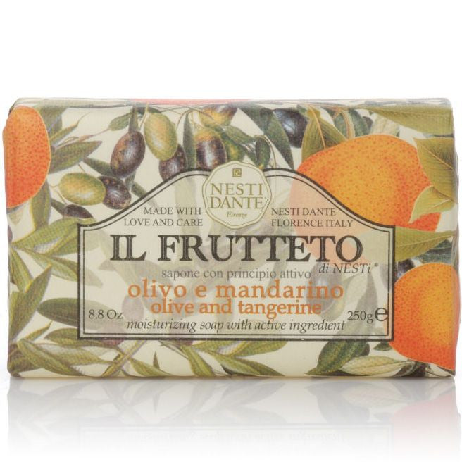 Nesti Dante Il Frutteto Bar Soap (Pure Olive Oil and Tangerine, 250 g)