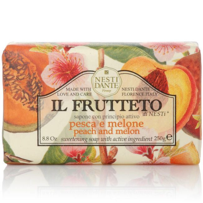 Nesti Dante Il Frutteto Bar Soap (Peach and Melon, 250 g)