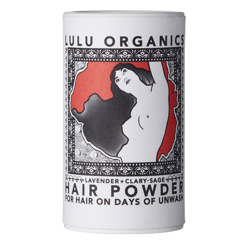 Lulu Organics Travel Sized Hair Powder (Lavender & Clary Sage, 1 oz)