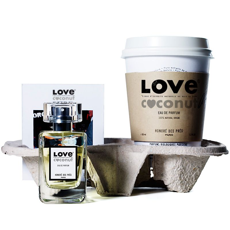 Honore des Pres Love Coconut Eau de Parfum (50 ml) lifestyle shot