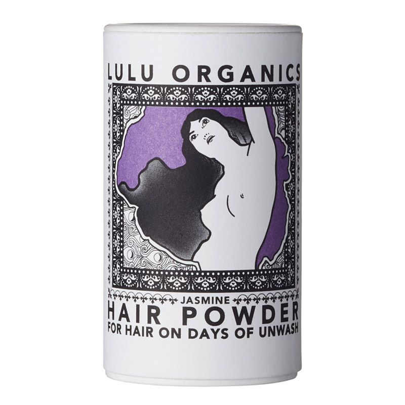 Lulu Organics Travel Sized Hair Powder (Jasmine, 1 oz)