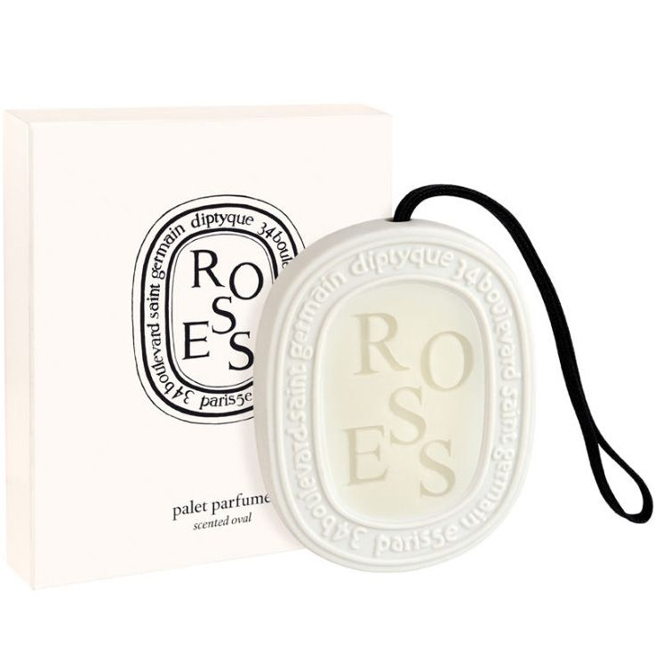 Diptyque Scented Oval -Roses