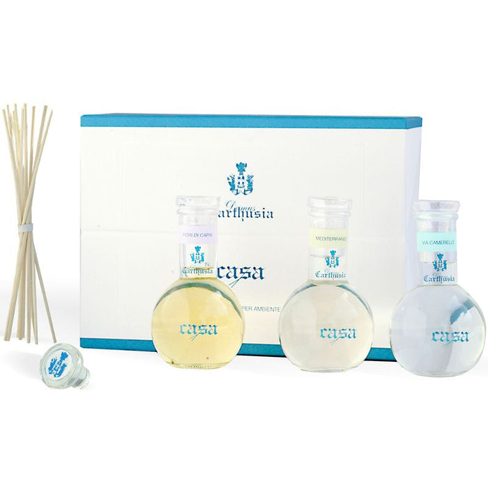 Carthusia Fragrance Diffuser Trio (3 x 100 ml) with box