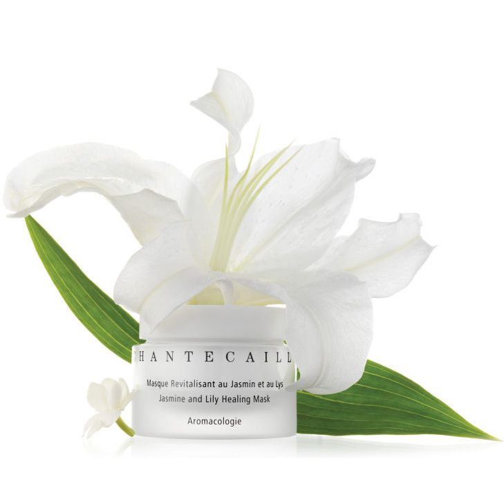 Chantecaille Jasmine & Lily Healing Mask (50 ml) with Lily flower