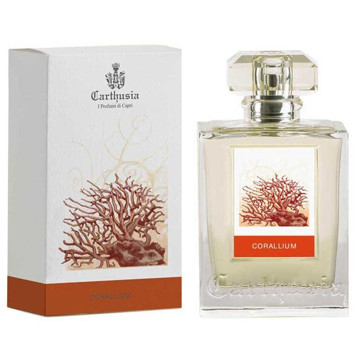 Carthusia Corallium Eau de Parfum (100 ml) with box