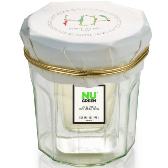 Honore des Pres Nu Green Eau de Toilette (50 ml) in packaging