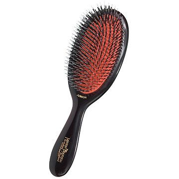 Mason Pearson Mixed Bristle Junior Hair Brush Medium Size (1 pc)