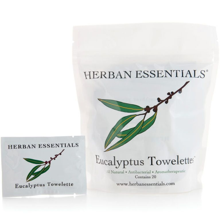 Herban Essentials Eucalyptus Towelettes (20 pcs)