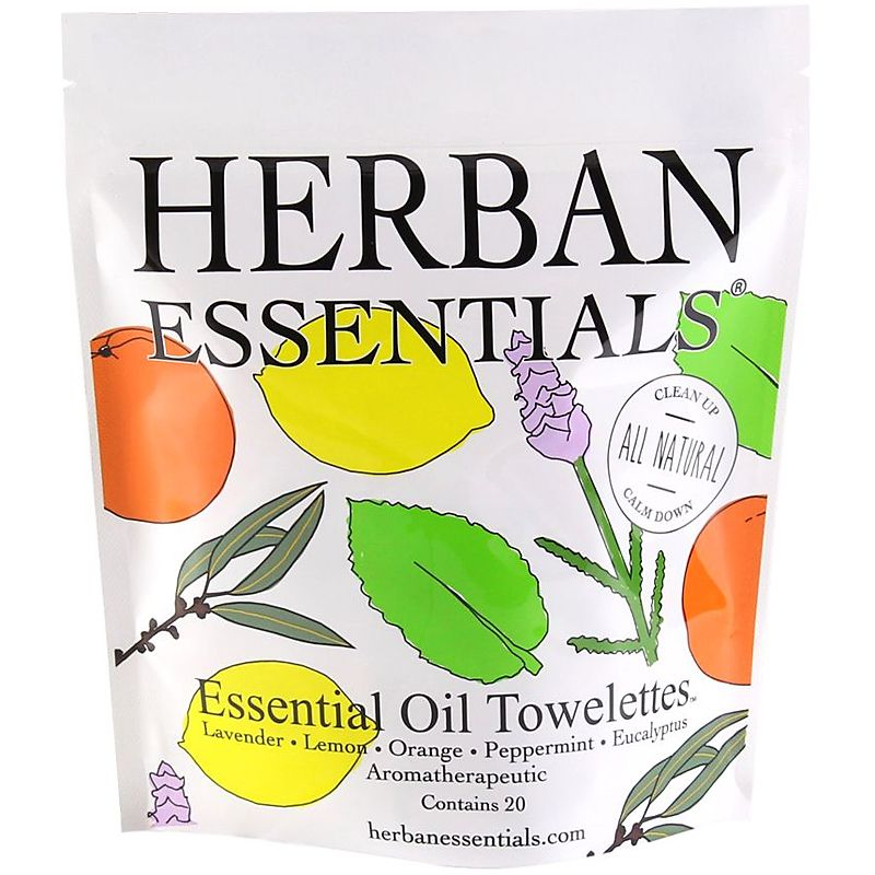 Herban Essentials Mixed Towelettes (20 pcs)