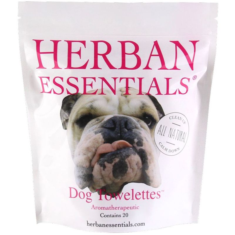 Herban Essentials Dog Towelettes (20 pcs)