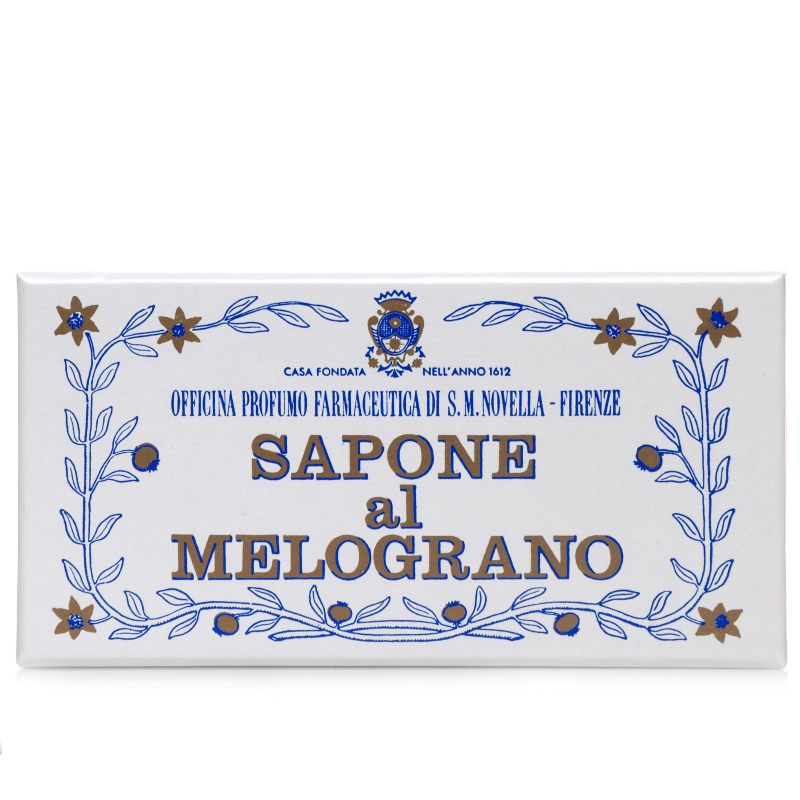 Santa Maria Novella Pomegranate Bath Soap box
