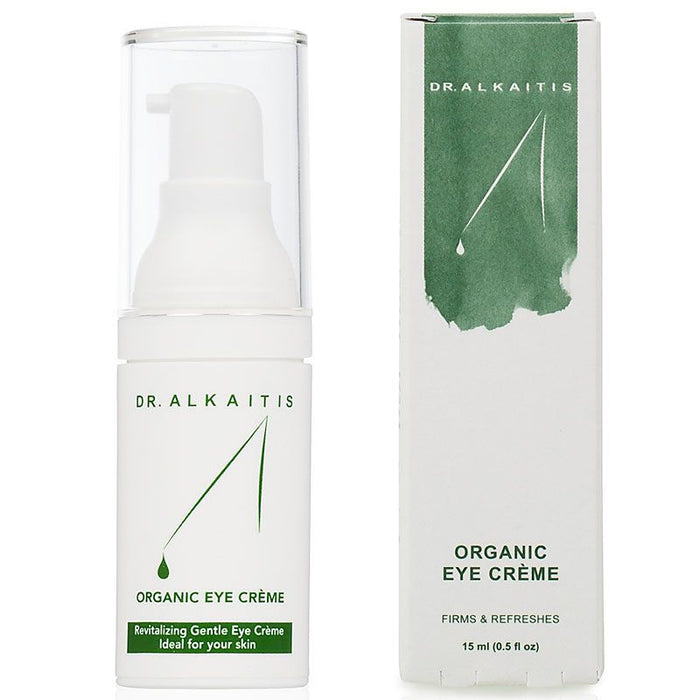 Dr. Alkaitis Organic Eye Creme (0.5 oz) with box
