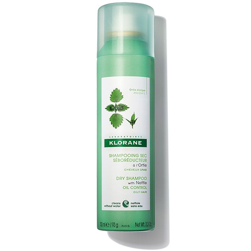 Klorane Dry Shampoo with Nettle Aerosol - All Hair Types (3.2 oz)