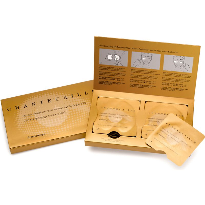 Chantecaille Gold Energizing Eye Recovery Mask (8 pairs)