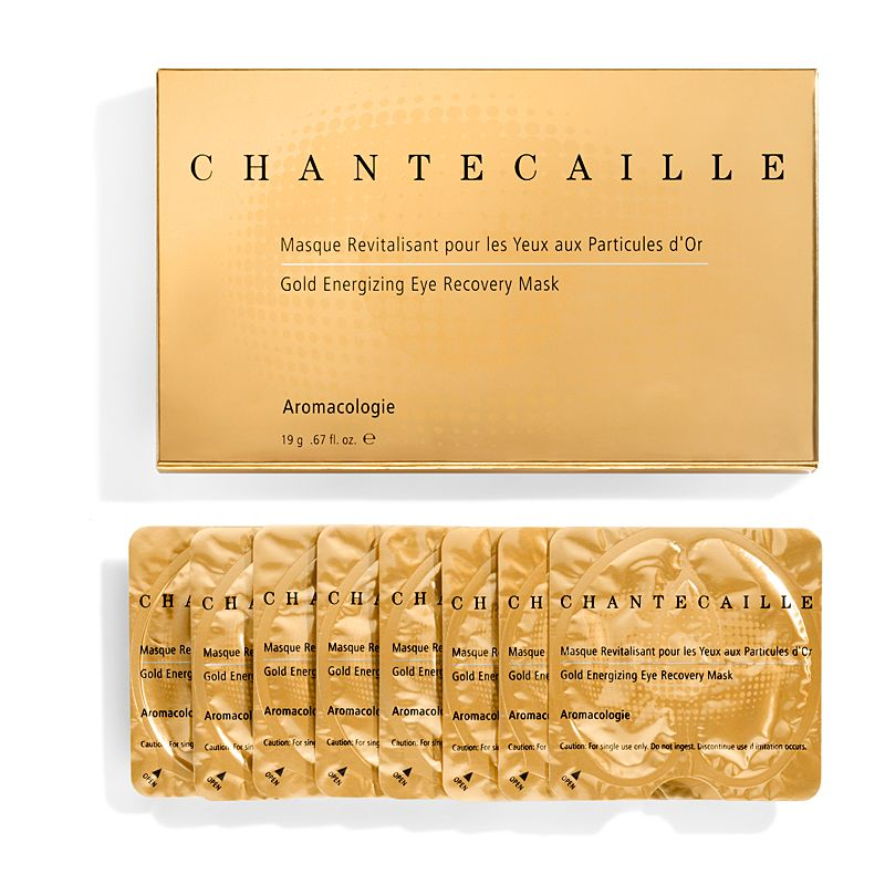 Chantecaille Gold Energizing Eye Recovery Mask 8 pairs all packets